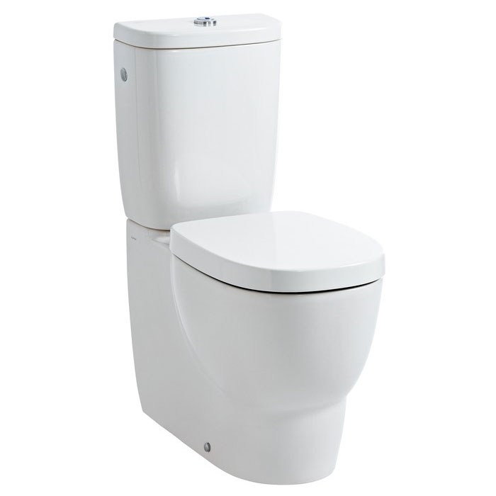 Laufen - Mimo Close Coupled Toilet (Back to Wall) - MIMWC2 Large Image