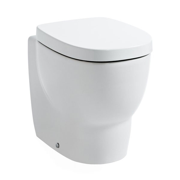 Laufen - Mimo Back to Wall Pan with Toilet Seat profile large image view 1
