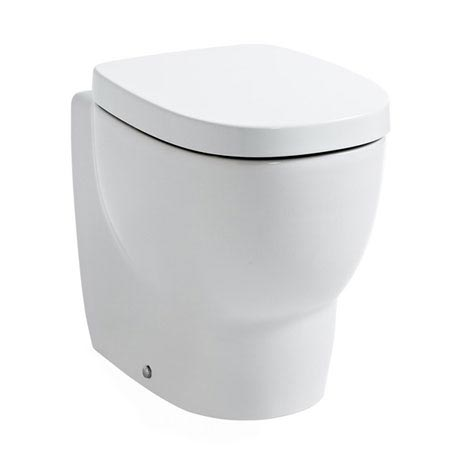 Laufen - Mimo Back to Wall Pan with Toilet Seat