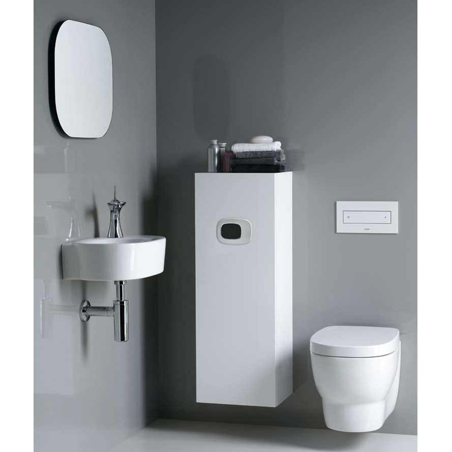 Laufen - Mimo Wall Hung Pan with Toilet Seat - MIMWC4 Profile Large Image