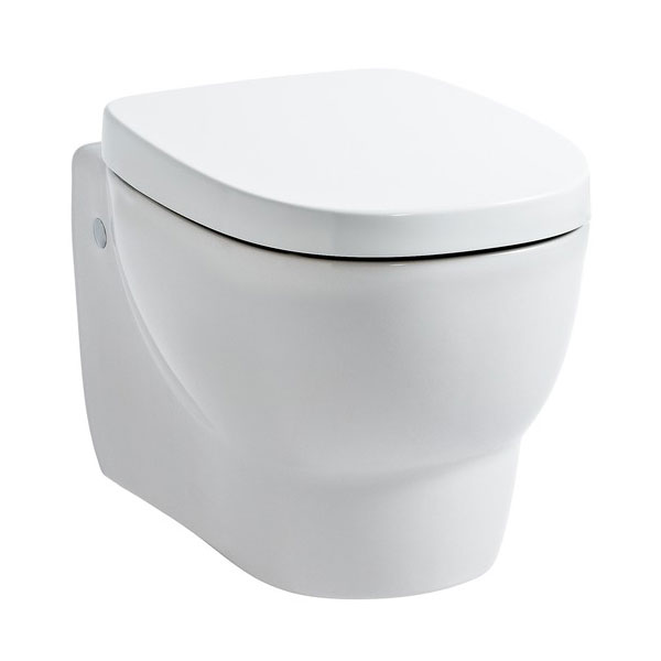 Laufen - Mimo Wall Hung Pan with Toilet Seat - MIMWC4 Large Image