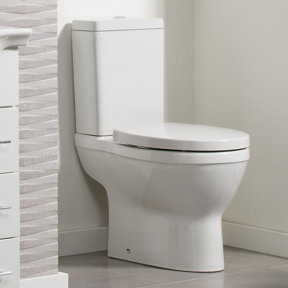 Roper Rhodes Minerva Close Coupled WC, Cistern & Soft Close Seat profile large image view 4