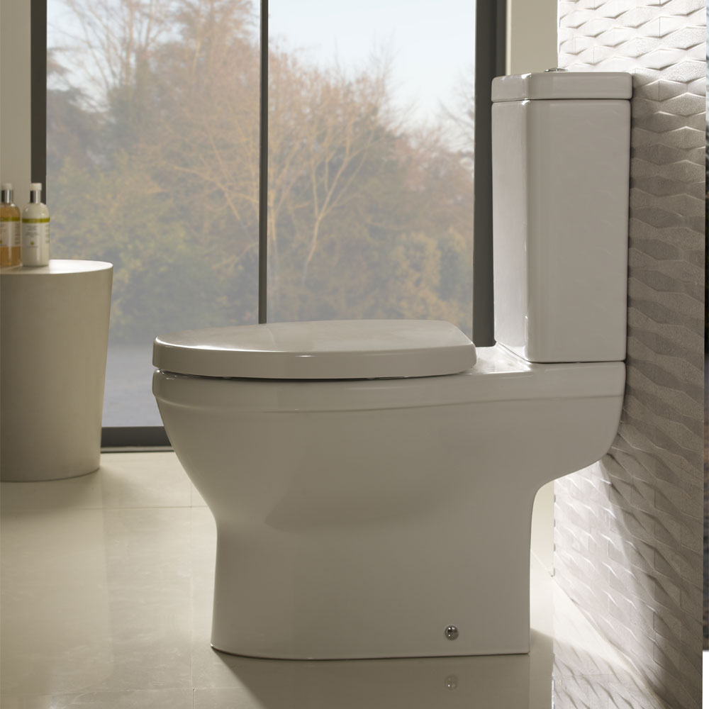 Roper Rhodes Minerva Close Coupled WC, Cistern & Soft Close Seat In Bathroom Large Image