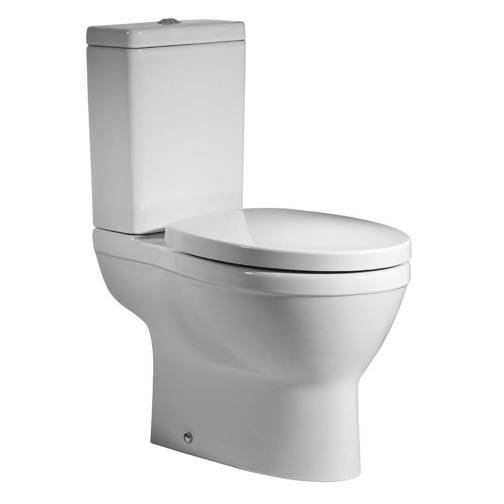 Roper Rhodes Minerva Close Coupled WC, Cistern & Soft Close Seat Large Image