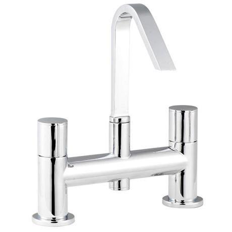Ultra minimalist ecco swivel spout bath filler min313 for Chatsworth bathroom faucet parts
