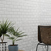 Victoria White Mini Metro Mosaic Tile - 291 x 296mm profile small image view 1