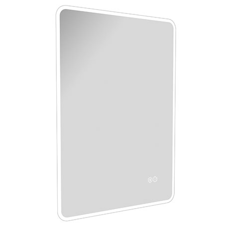 Turin 700 x 500mm Portrait LED Illuminated Bluetooth Mirror Inc. Touch Sensor