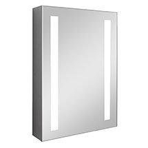 Turin 500x700mm LED Illuminated Mirror Cabinet Inc. Anti-Fog & Motion Sensor - MIR013 Medium Image