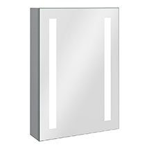 Turin 500x700mm LED Illuminated Mirror Cabinet Inc. Anti-Fog & Motion Sensor - MIR013 Medium Image