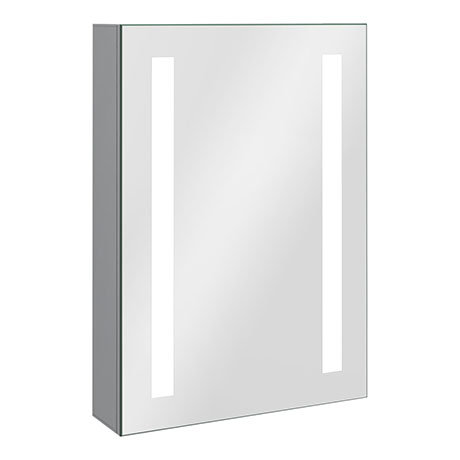Turin 500x700mm LED Illuminated Mirror Cabinet Inc. Anti-Fog & Motion Sensor - MIR013