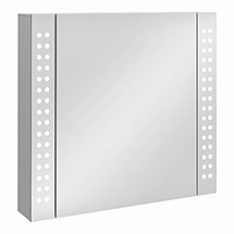 Turin 650x600mm LED Illuminated Mirror Cabinet Inc. Motion Sensor - MIR015 Medium Image