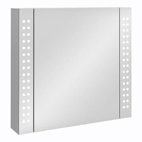 Turin 650x600mm LED Illuminated Mirror Cabinet Inc. Motion Sensor - MIR015