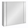 Turin 650x600mm LED Illuminated Mirror Cabinet Inc. Motion Sensor - MIR015 profile small image view 1