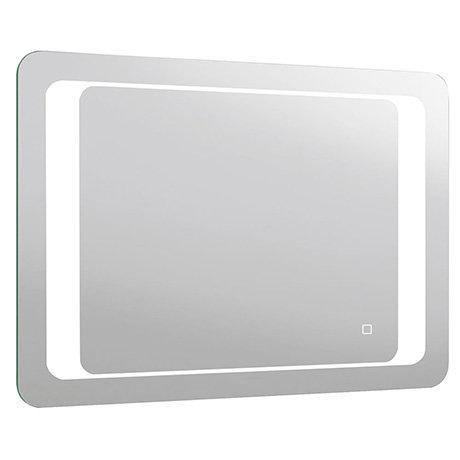 Turin 800x600mm LED Illuminated Bathroom Mirror Inc. Anti-Fog & Touch Sensor - MIR019