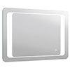 Turin 800x600mm LED Illuminated Bathroom Mirror Inc. Anti-Fog & Touch Sensor - MIR019 profile small image view 1