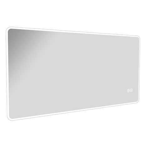 Vision 600 x 1200mm LED Illuminated Bluetooth Mirror Inc. Touch Sensor + Anti-Fog