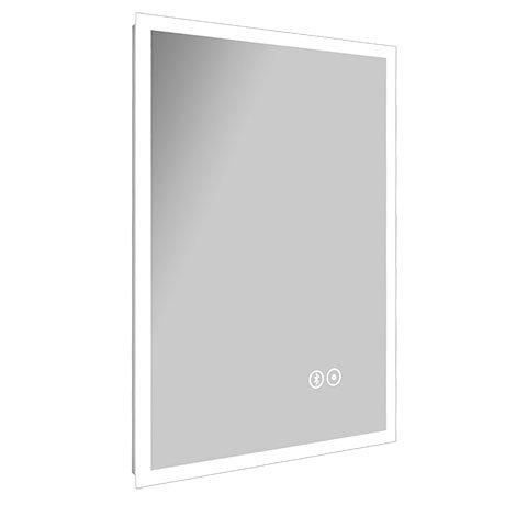 Turin 500 x 700mm Portrait LED Illuminated Bluetooth Mirror Inc. Touch Sensor + Anti-Fog