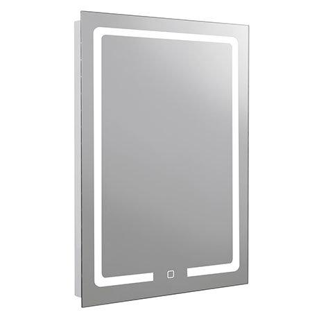 Turin 500x700mm LED Illuminated Mirror Inc. Touch Sensor - MIR034
