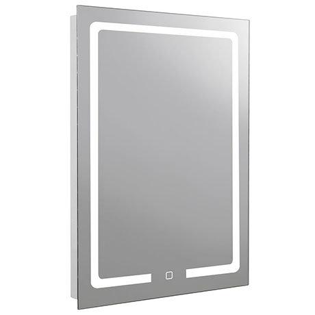 Turin 600x800mm LED Illuminated Mirror Inc. Touch Sensor & Anti-Fog - MIR035
