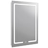 Turin 600x800mm LED Illuminated Mirror Inc. Touch Sensor & Anti-Fog - MIR035 profile small image view 1