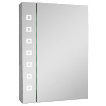 Turin 500x700mm LED Illuminated Mirror Cabinet Inc. Motion Sensor & Anti-Fog - MIR038 Medium Image