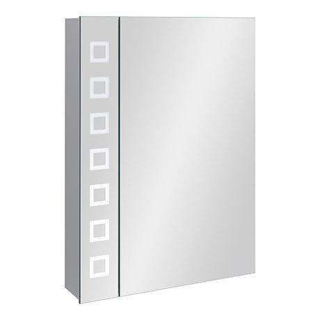 Turin 500x700mm LED Illuminated Mirror Cabinet Inc. Motion Sensor & Anti-Fog - MIR038