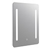 Turin 500x700mm LED Illuminated Mirror Inc. Touch Sensor - MIR345 profile small image view 1
