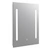 Turin 500x700mm LED Illuminated Mirror Inc. Touch Sensor - MIR346 profile small image view 1