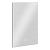 Turin 400x600mm LED Illuminated Bathroom Mirror Inc. Touch Sensor profile small image view 1