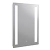Turin 500x700mm LED Illuminated Mirror Inc. Touch Sensor - MIR348 profile small image view 1