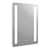 Turin 500x700mm LED Illuminated Mirror Inc. Touch Sensor - MIR348 profile small image view 1