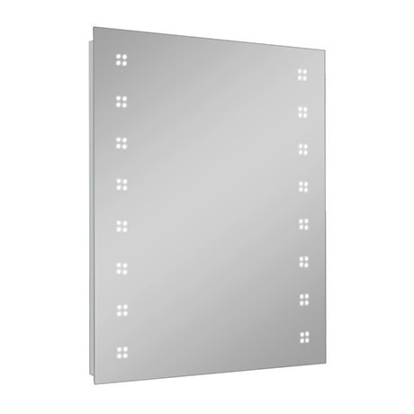 Turin 800 x 600mm LED Illuminated Mirror Inc. Touch Sensor, Anti-Fog & Shaving Socket