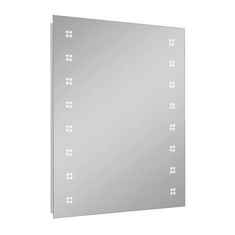 Turin 800 x 600mm LED Illuminated Mirror Inc. Touch Sensor, Anti-Fog & Shaving Socket