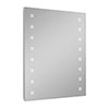 Turin 800 x 600mm LED Illuminated Mirror Inc. Touch Sensor, Anti-Fog & Shaving Socket Small Image