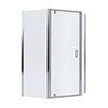 Mira Leap 1200 x 900 Offset Pentagon Pivot Door Shower Enclosure profile small image view 1