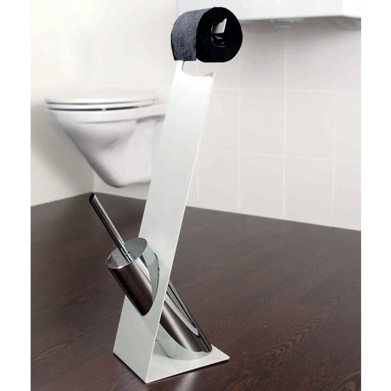 Wenko Miramar Standing WC Set - 2 Colour Options profile large image view 2