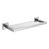 Milan Modern Wall Mounted Glass Shelf profile small image view 1