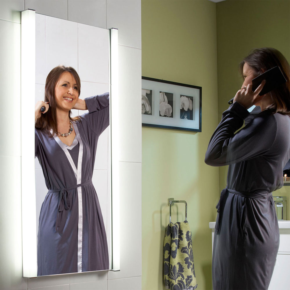 Roper Rhodes Transcend Fluorescent Illuminated Mirror - MLB320 profile large image view 4