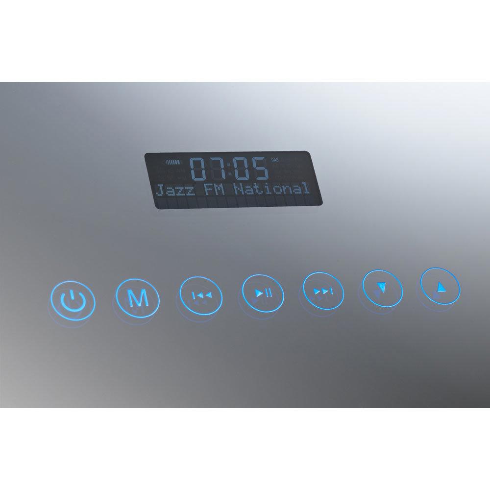 Roper Rhodes Audio-Image Multimedia Radio Mirror - MLE400 Standard Large Image
