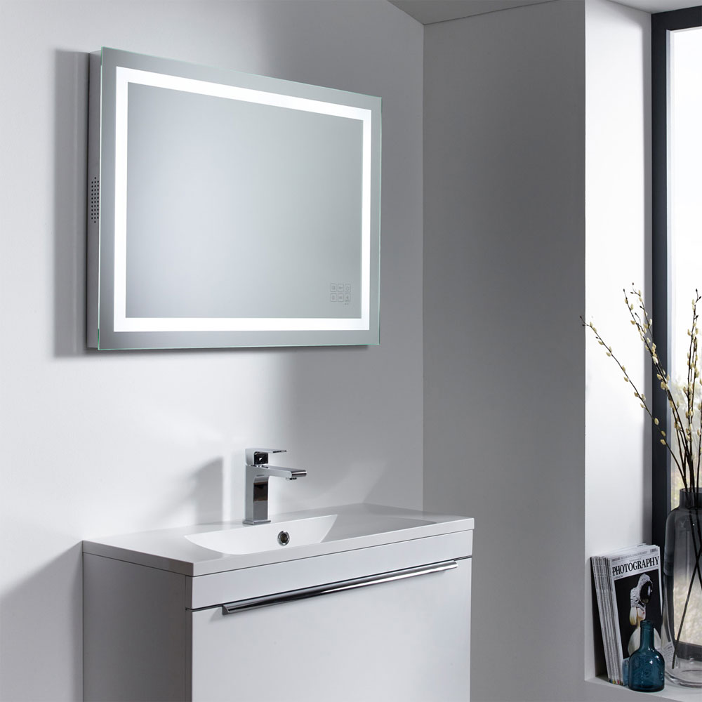 Roper Rhodes Beat Bluetooth Illuminated Mirror - MLE420 profile large image view 3