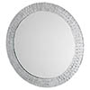 Croydex Meadley Circular Mirror with Mosaic Surround 600 x 600mm - MM700700 profile small image view 1