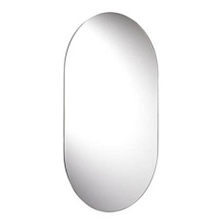Croydex Harrop Hang N Lock Rounded Rectangle Mirror 650 x 400mm - MM701300