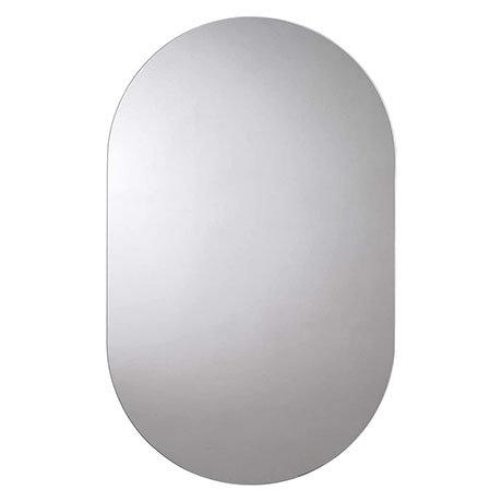 Croydex Harrop Hang N Lock Rounded Rectangle Mirror 650 x 400mm - MM701300