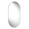 Croydex Harrop Hang N Lock Rounded Rectangle Mirror 650 x 400mm - MM701300 profile small image view 1