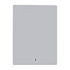 Croydex Chilcombe Hang N Lock Illuminated Mirror with Demister Pad 500 x 700mm - MM720200E profile small image view 1