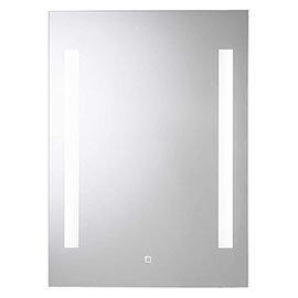 Croydex Henbury Hang N Lock Illuminated Mirror with Demister Pad 700 x 500mm - MM720300E