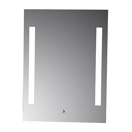Croydex Henbury Hang N Lock Illuminated Mirror with Demister Pad 700 x 500mm - MM720300E