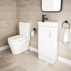 Toronto Modern Cloakroom Vanity Suite profile small image view 1