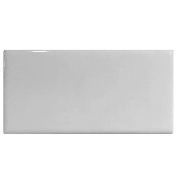 Mini Metro Flat White Gloss Wall Tiles 75 x 150mm