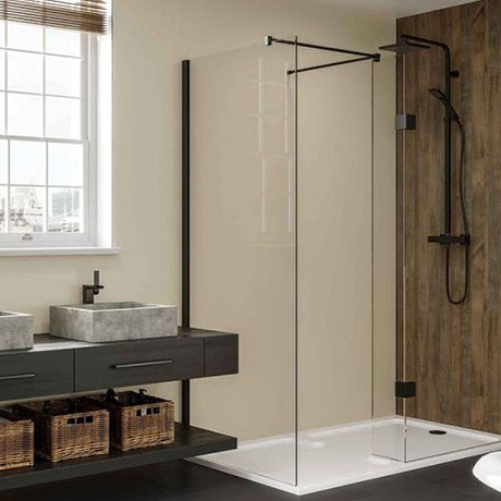 Multipanel Neutrals Collection Parchment Bathroom Wall Panel